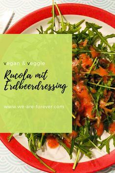 Vegan, Foodies, Blog, Cooking, Salad With Strawberries, Salads, Feel Better, Healthy Food, Fresh