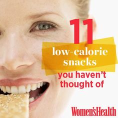 11 Low-Calorie Snacks You Haven't Thought Of | Women's Health Magazine