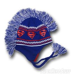 Superman Mohawk Hat!
