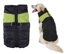 Hip Pet Dog Coat Jacket Padded Vest Ski Suit for Large Dogs in Cold Weather >>> Review more details here : Dog Apparel and Accessories
