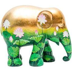 Asian Elephant, Elephant Love, Elephant Art, Elephant Stuff, White Lotus Flower, Elephant Parade, Vintage Glam, Typography Prints, Chiang Mai