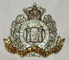 British Military Badge Army Hat, Military Insignia, Military Service, Crests, British Army, Commonwealth, Badges, Wwii, Markers