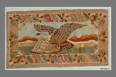 Hooked Rug- Probably Edward Sands Frost (1843–1894) ca. 1870 Met. Museum of Art