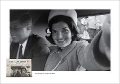 Famous Photos Reimagined as Selfies in Newspaper's Wonderful Print Ads | Adweek