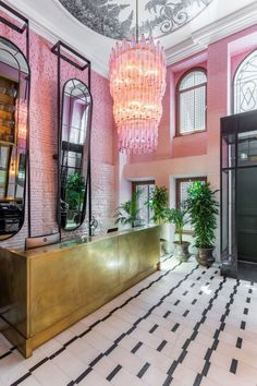 Hotel Inspiration: Room Mate Hotel by Lázaro Rosa Violán - Ashley Louise - Hotel Contemporary Interior Design, Best Interior Design, Interior Design Inspiration, Interior Decorating, Decorating Tips, Decorating Websites, Design Websites, Luxury Interior, Contemporary Style