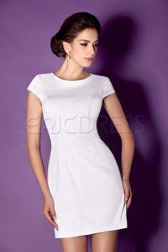 Elegant Column/Sheath Mini Bateau Taline's Cocktail/Formal Dress Best Selling Cocktail Dresses- ericdress.com 10161776