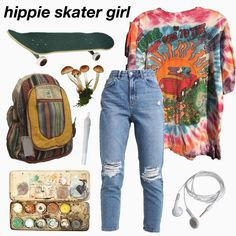 Indie Outfits, Teen Fashion Outfits, Grunge Outfits, Boho Outfits, Vintage Outfits, Retro Outfits, Cute Casual Outfits, Aesthetic Fashion, Aesthetic Clothes