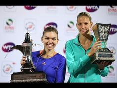 2015 Dubai Duty Free Tennis Championships Final WTA Highlights: Simona Halep Wins Her 10th Career WTA Title. Watch Saturday's highlights from the Dubai Duty Free Tennis Championships, featuring Simona Halep def Karolina Pliskova 64 76(4) for her 10th career WTA title.