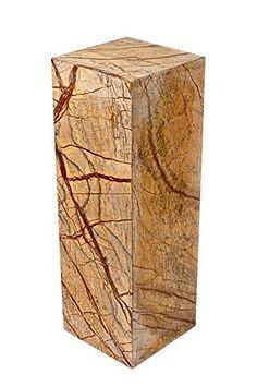 Säule aus 100% hochwertigem indischen Marmor, sehr stabil, als Sockel für Skulptur, Büste, Vasen, oder Galeriesockel oder als Blumensäule, als Dekosäule und Schmucksäule, Schlicht, klassische Optik, Standfest, ideal für Wohnraum, Terrasse, Balkon oder Garten, H/B/L: 60x20x20 cm; Gewicht: 25 KG Yuchengstone http://www.amazon.de/dp/B00F3A8AWC/ref=cm_sw_r_pi_dp_EOXxwb0HCX4QJ