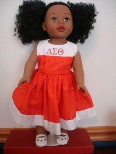 Delta Sigma Theta doll