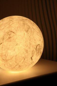 Weiße Leuchtkugel XXL  NEU von Creativablue auf DaWanda.com