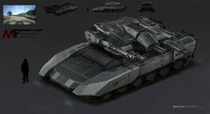 Concept tanks by MuYoung Kim Keywords: concept tank models renders illustrations designs by MuYoung Kim art image portfolio samples f...