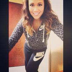 Nike cheetah print sweats - I want that hoodie!!