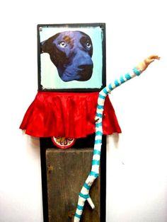 """Louis St. Lewis - """"Circus Dog"""""""