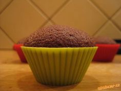 Výborné muffiny Czech Recipes, Cheesecake Brownies, Deserts, Pudding, Cupcakes, Cookies, Breakfast, Sweet, Czech Food