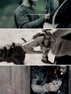 Ragnar + Athelstan: And I just wanted to say, I'm sorry it ended like this. #vikings