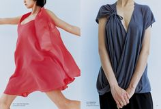 Drape Drape 1 - I do like the idea of this dress on the left