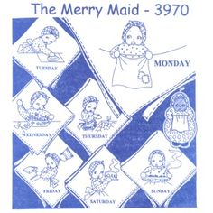 Aunt Martha 3970 - The Merry Maid