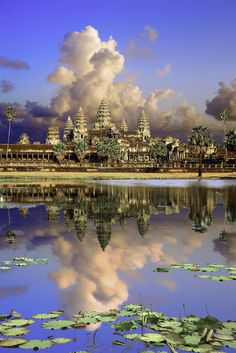 Researchers have discovered the buried ruins of 12th century towers on the grounds of Angkor Wat, Cambodia.
