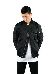 BOMBERS REVERSIBLE - NOIR – CHMPGN
