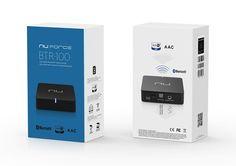 NuForce BTR-100 - Bluetooth vastaanotin - HIFIKULMA Amazon Echo, Bluetooth, The 100, Audio, Blue Tooth