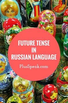 Lean to conjugate Russian verbs in future tense
