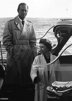 Queen Elizabeth, February 1957