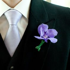 Love this idea for boutonnieres!!!! :)