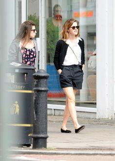 Emma Watson Photos: Emma Watson Sits in the Sun