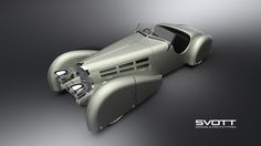Bugatti 57s roadster 1936