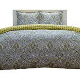 Found it at Wayfair - Milan Comforter Set in Yellow