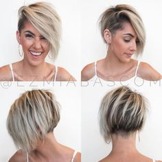 Today we have the most stylish 86 Cute Short Pixie Haircuts. We claim that you have never seen such elegant and eye-catching short hairstyles before. Pixie haircut, of course, offers a lot of options for the hair of the ladies'… Continue Reading → Blonde Hair With Bangs, Short Hair With Bangs, Short Blonde, Short Hair Cuts, Pixie Cuts, Short Pixie, Edgy Short Hair, Blonde Pixie, Short Curly Hairstyles For Women