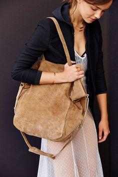 BDG Suede Drapey Tote Bag