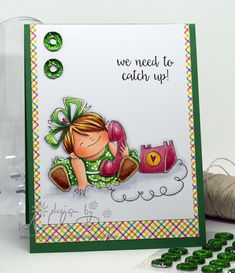 Chatty Squidgy - Stamping Bella