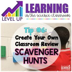 Leveling Up Learning Tip Create Your Own Classroom Scavenger Hunts ⋆ The Trendy Science Teacher Scavenger Hunt Template, Classroom Scavenger Hunt, School Scavenger Hunt, Scavenger Hunts, High School Classroom, High School Students, Level Up, Classroom Management, Teacher Resources