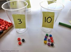 Learn with Play at Home: Exploring teen numbers. Open-ended, hands-on maths for kids.