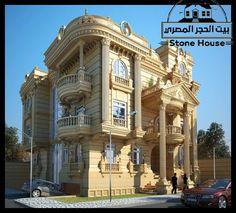 Classic House Exterior, Tiny House Exterior, Classic House Design, Bungalow House Design, Classic Architecture, Facade Architecture, Building Facade, Building Design, Fachada Colonial