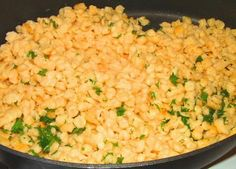 A Feast for the Eyes: Spaetzle- German pasta