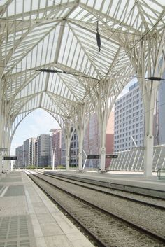Oriente Station   Santiago Calatrava