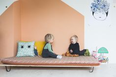 Create the perfect kids room, playroom and reading nook for your precious little ones with a handmade ByAlex playmat. You can use one by itself, you can combine them with our cosy cushions for an instant reading nook, or you can create the most amazing play area by laying several playmats together.  Designed by Alex and handmade in the Netherlands gorgeous fabrics that are incredibly easy to clean, all you need is water and a clean cloth.