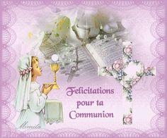carte communion gratuite à imprimer Les 11 meilleures images de 1ère. Communion.   Carte invitation