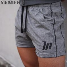 >> Click to Buy << YEMEKE 2017 Summer Casual Shorts Men Slim Fit Printing  Size Bottom Knee Length Brand Clothing Gray, black, the camouflage #Affiliate