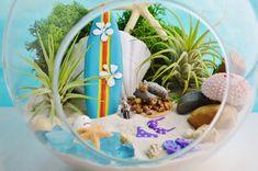 Surfboard and Bikini Terrarium Kit 2 by BeachCottageBoutique
