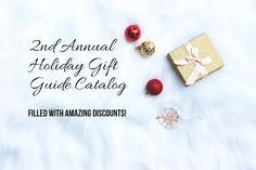 Welcome to the 2nd Annual Holiday Gift Guide Catalog