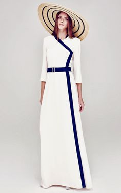 A La Russe Spring/Summer 2014 Trunkshow Look 42 on Moda Operandi