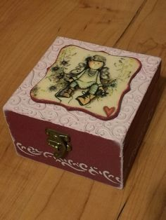 Cuki dobozka kislányoknak / sweet -box for little girl