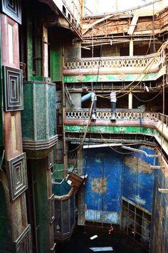 Innenansicht des Wracks: Das Schiff soll in Genua in den kommenden zwei Jahren...