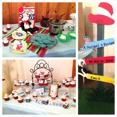Dr Seuss baby shower theme #babyshower #babyparty  #inspiration  #shower #baby #Horton #seuss
