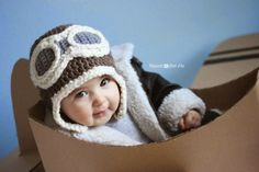 Every little (or big!) pilot needs a Crocheted Aviator Hat! Perfect for play or a cute accessory for chilly weather. You can find the Cardboard Box Airplane tutorial HERE. And you might recognize the Goggle pattern… It's the same as my Sleepy Owl Mask! I love when I can re-purpose old patterns  Materials: – …