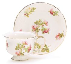Royal Rose Teacup and Saucer